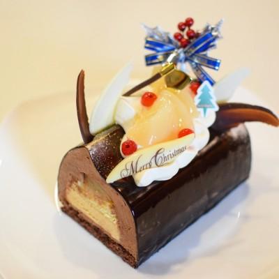 クリスマスケーキブッシュドノエル ショコラ